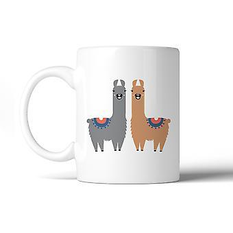 Llama Pattern Microwave Dishwasher Safe Ceramic Coffee Mug Gift