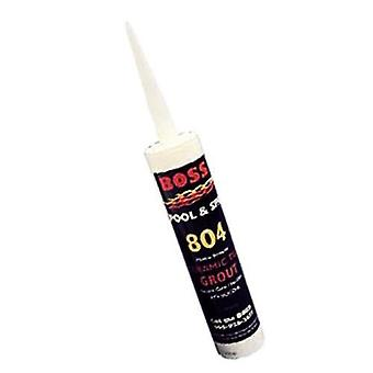 Boss 80401B White Silicone Ceramic Tile Grout