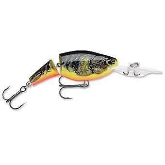 Rapala Jointed Shad Rap 04 Fishing Lure - Fire Crawdad