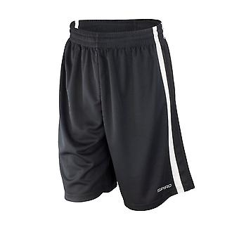 Spiro Mens Basketball Quick Dry Shorts
