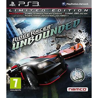 Ridge Racer onbegrensde-Limited Edition (PS3)-nieuw