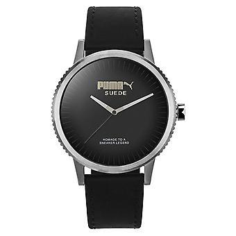 PUMA horloge pols horloge unisex suède limited edition siliconen PU104101001