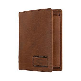 Camel active mens wallet portefeuille purse Cognac 6350