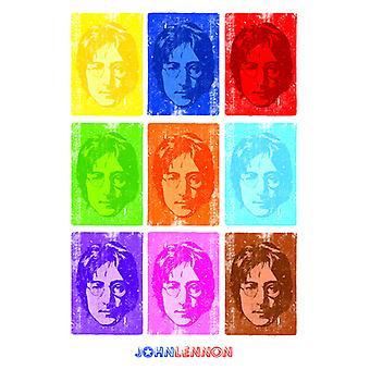 John Lennon Pop Art Poster Poster Print