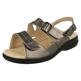 Ladies Padders Wide Fitting Summer Sandals Laura