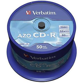 Verbatim 43343 blanco CD-R 700 MB 50 PC (s) spindel