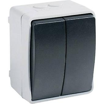 GAO 9875 Wet room switch product range Series switch Standard Grey