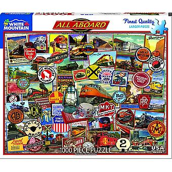 Alle an Bord 1000 Puzzle Puzzle 750 Mm X 600 Mm