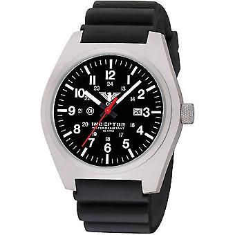 KHS męskie zegarek stal interceptor KHS. INÈS. DB