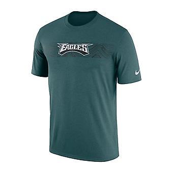 Nike Nfl-Philadelphia Eagles Seitenlinie seismische Legende Performance T-shirt