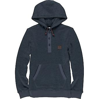 Element Highland Henley Pullover Hoody in India Ink HT