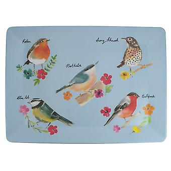 English Tableware Co Garden Birds Large Tray