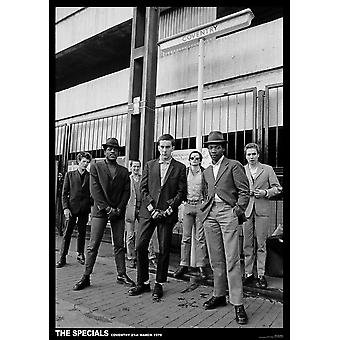 Specials Coventry Coventry 1979 Poster Poster afdrukken