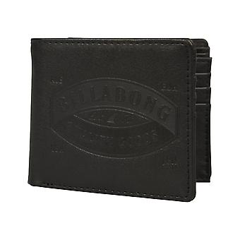 Billabong Junction Faux Portefeuille en cuir en noir