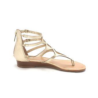 Bar III Womens Vida Split Toe Casual Strappy Sandals