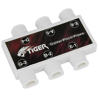 Tiger Pitch Pipes Tuner for Guitar Tuning - Guitar Tuner