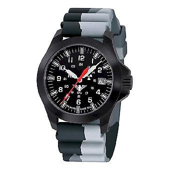 KHS zegarki męskie zegarek czarny plutonu LDR KHS. BPLDR. DC1