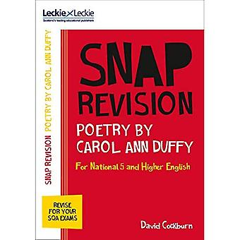 Leckie & Leckie Snap Revision - N5/Higher English: Poetry by Carol Ann Duffy (Leckie & Leckie� Snap Revision)