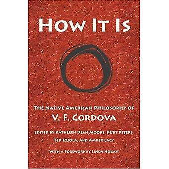 Hur det är: Native American filosofi V. F. Cordova