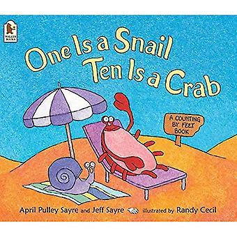 Ene er en snegl, ti er en krabbe