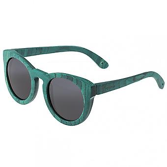 Spectrum Malloy Wood Polarized Sunglasses - Teal/Black