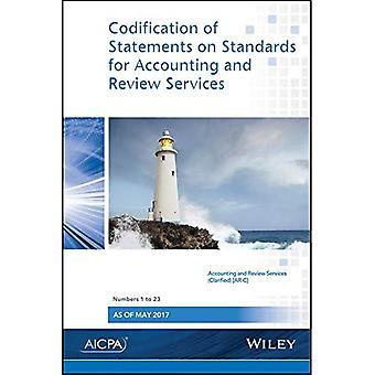 Codificatie van de verklaringen over de normen voor boekhouding en Review diensten: nummers 1-23
