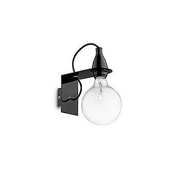 Ideal Lux - IDL045214 luz mínima pared negro