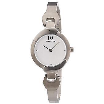 Dansk Design 3326592-armbåndsur, Titan, farge: sølv
