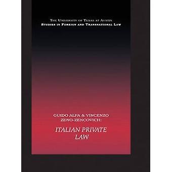 Italian Private Law by Alpa & Guido