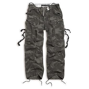 Carga excedente de los hombres pantalones pantalones vintage de fatiga