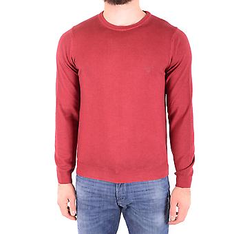 Gant Ezbc144008 Men's Red Wool Sweater