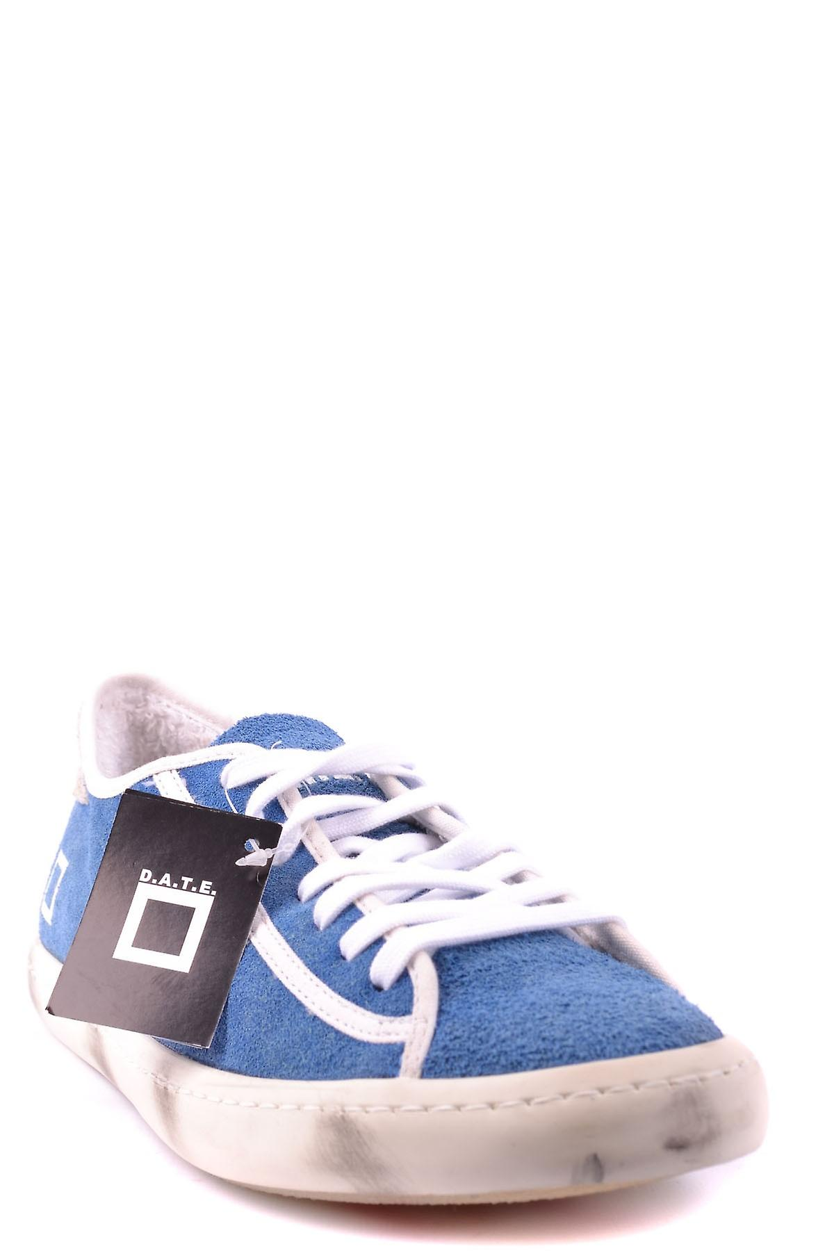 D.a.t.e. Ezbc177019 Men-apos;s Light Blue Fabric Sneakers