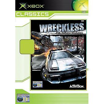 Wreckless den Yakuza uppdrag (Xbox Classics)-ny