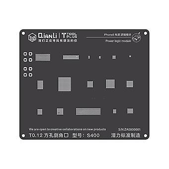 QianLi 3D BGA Stencil Template - Power Logic Module - iPhone 8 - S400