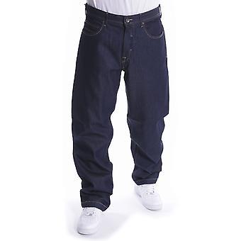 Pelle Pelle Baxter Baggy Denim Jeans Raw Indigo