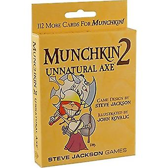 Munchkin Expansion 2 Unnatural Axe Card Game