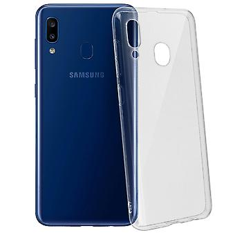 Samsung Galaxy A20e Ultra-thin and Transparent Soft Protection Case - Akashi
