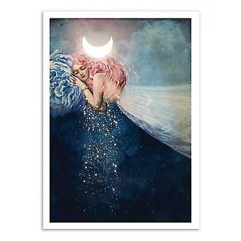 Art-Poster-de slaap-Catrin Welz-Stein 50 x 70 cm
