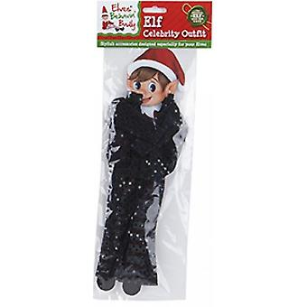 Elfy Behavin Badly - Elf Cekin Celebrity Outfit - Czarny