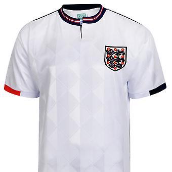 England 1989 Retro Adult Unisex Football Shirt