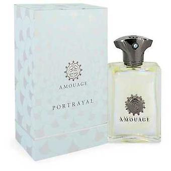 Amouage Portrayal By Amouage Eau De Parfum Spray 3.4 Oz (men) V728-546497