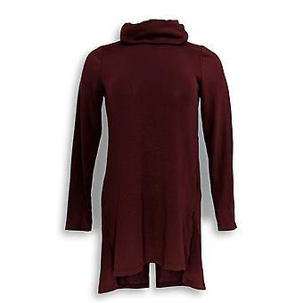 Lisa Rinna coleção mulheres ' s Top XXS capuz pescoço túnica roxo A297909