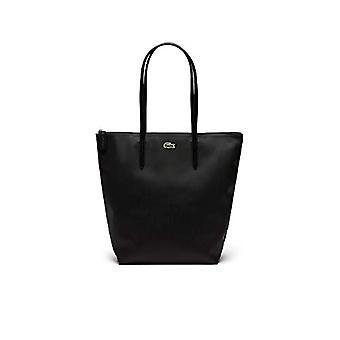 Lacoste Nf1890po-zwarte dames tassen (zwart) 16x35x26 cm (b x H L)