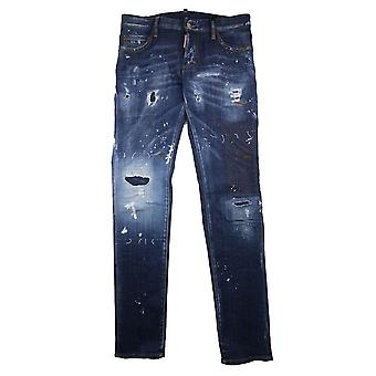 Dsquared2 Slim Fit Distressed Denim
