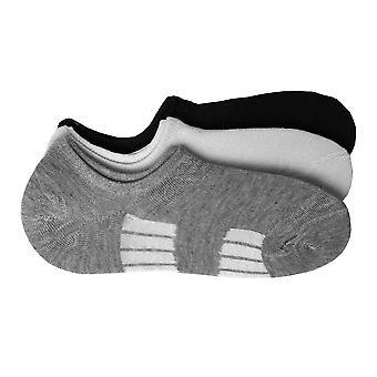 Sneaker Socks Stripes Number Footie Stockings 6 Pack Unisex Footwear 40-46 Basic