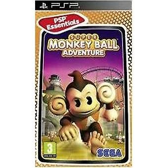 Super MonkeyBall Adventure [PSP Essentials] (PSP)-fabriken förseglad