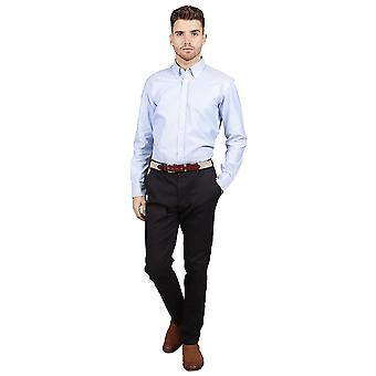 Slim fit chino trousers – navy