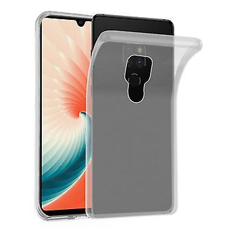 Cadorabo Caja para Huawei MATE 20 Funda de caso - Funda de teléfono móvil hecha de silicona TPU flexible - Funda protectora de silicona Ultra Slim Soft Back Cover Parachoques parachoques