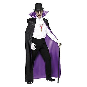 Mama Graf Dracula Reversible Cape Halloween Fancy Dress Accessory