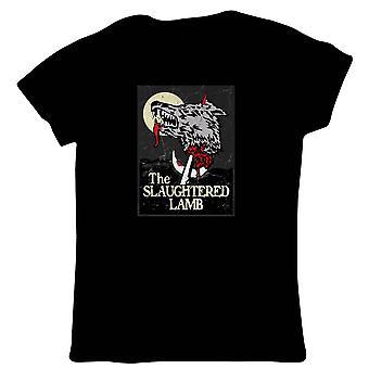 The Slaughtered Lamb American Werewolf Movie Womens T-Shirt | TV & Movie Gift Her Mum